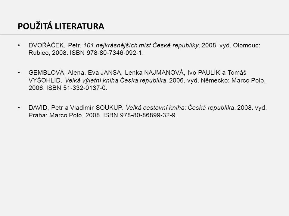 DVOŘÁČEK, Petr. 101 nejkrásnějších míst České republiky.