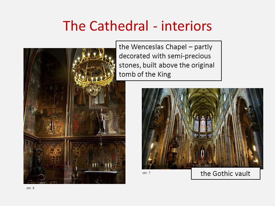 The Cathedral - interiors obr. 6 obr.