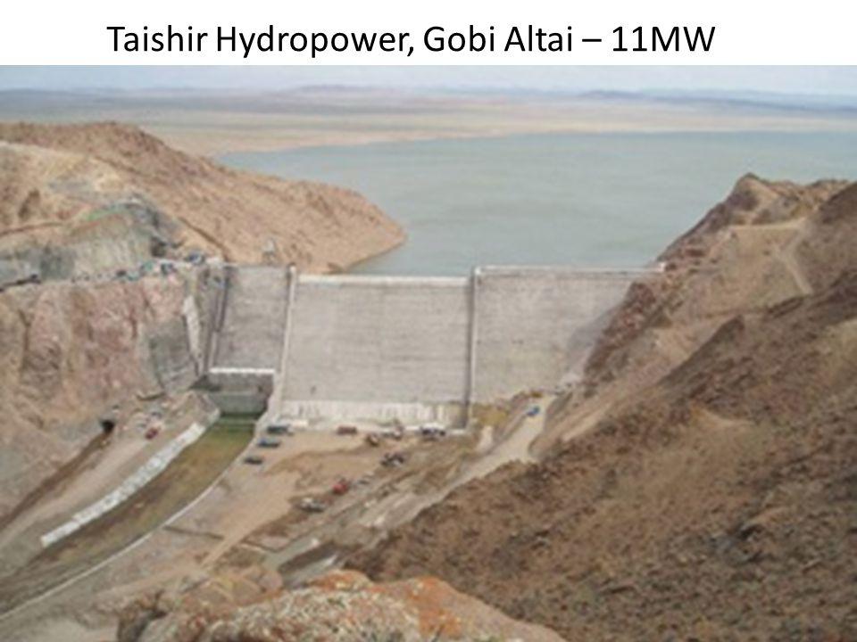Taishir Hydropower, Gobi Altai – 11MW