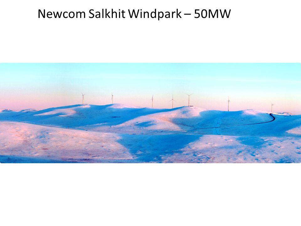 Newcom Salkhit Windpark – 50MW