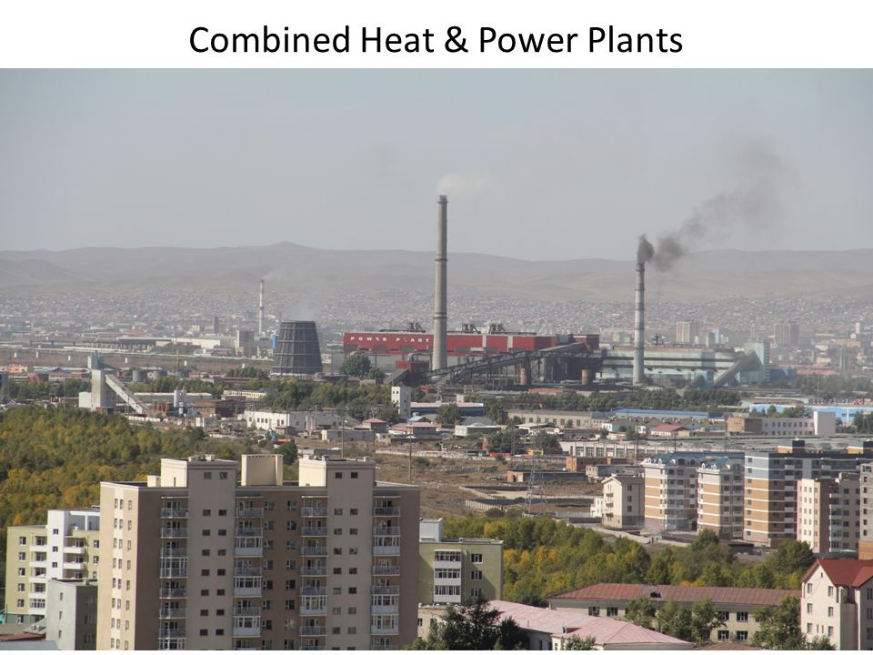 Combined Heat & Power Plants
