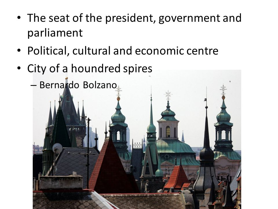 Five historical districts Old Town New Town Josefov Lesser Town Hradčany UNESCO