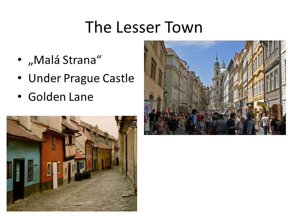 "New Town Wenceslas Square ""Prague's city"