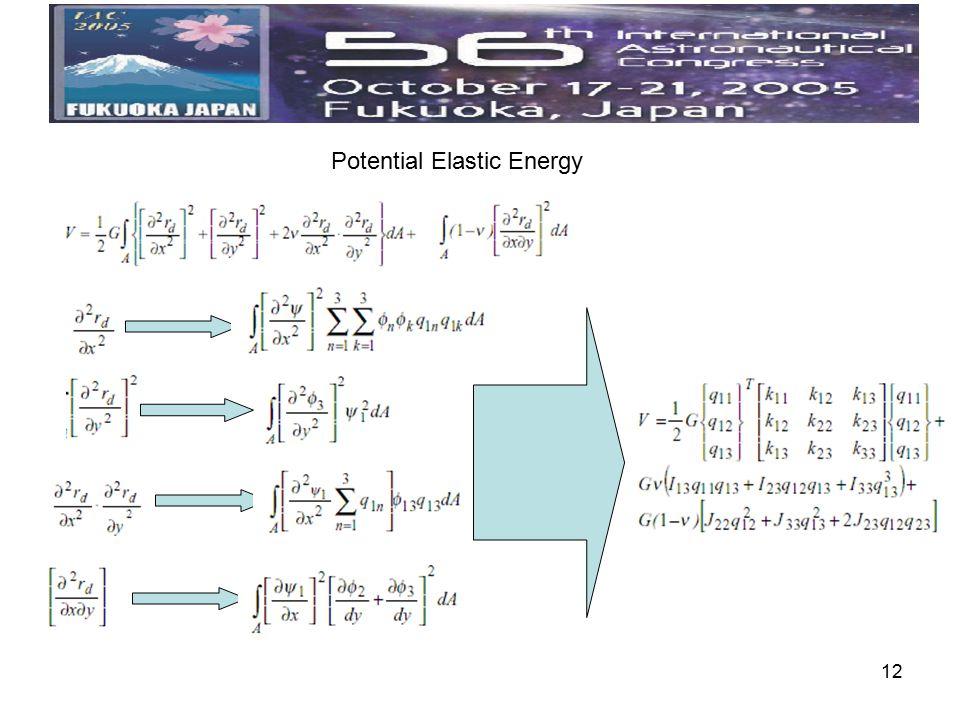 12 Potential Elastic Energy