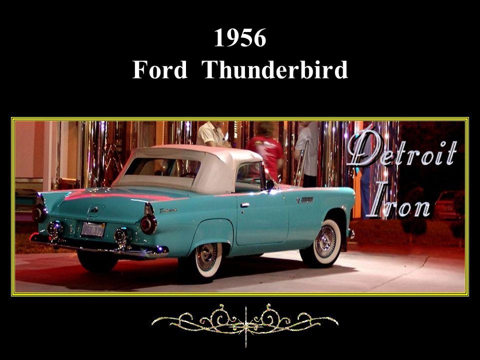 1951 Buick Le Sabre avance manual