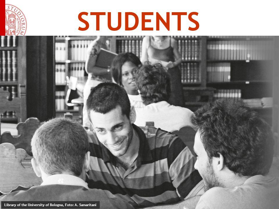 STUDENTS Library of the University of Bologna, Foto: A. Samaritani