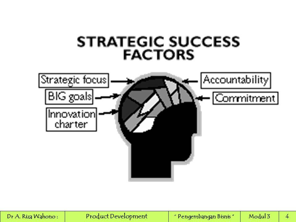 "Product Development Dr A. Riza Wahono :"" Pengembangan Bisnis ""Modul 34"