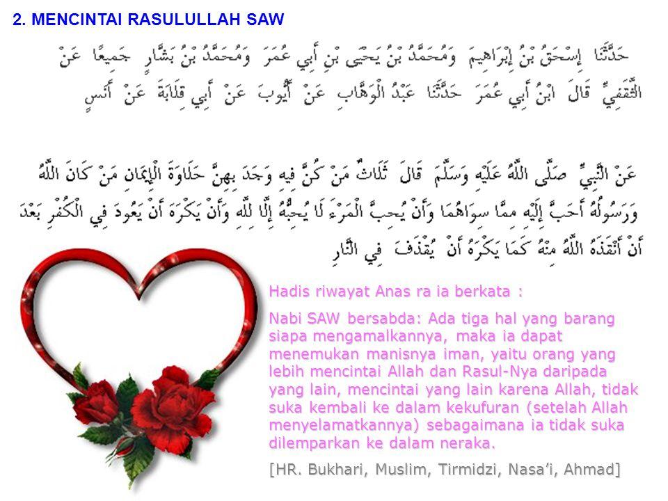 7.Dan ketahuilah olehmu bahwa di kalanganmu ada Rasulullah.