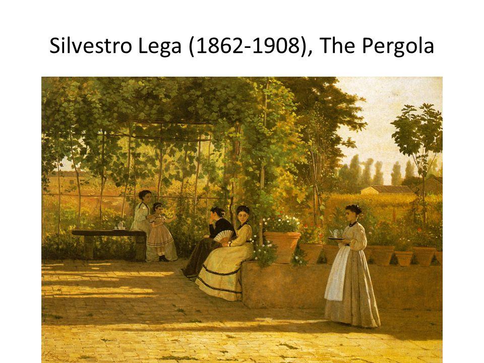 Silvestro Lega (1862-1908), The Pergola
