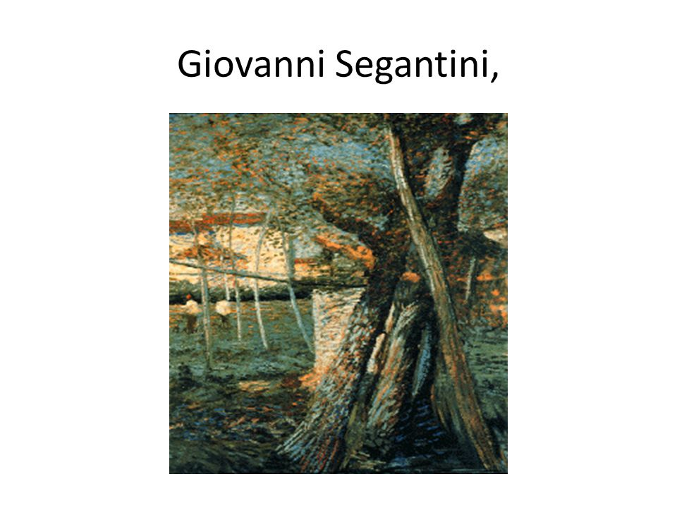 Giovanni Segantini,