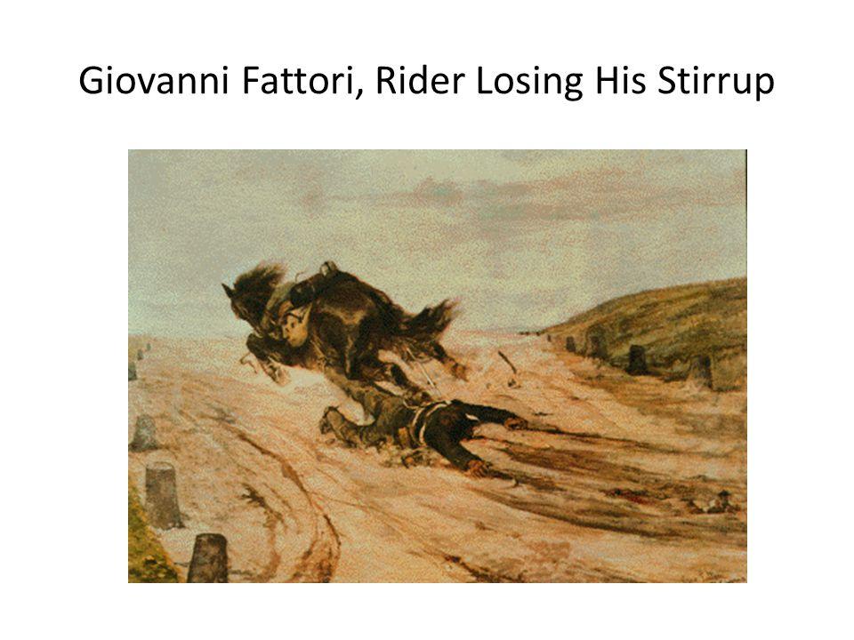 Giovanni Fattori, Rider Losing His Stirrup