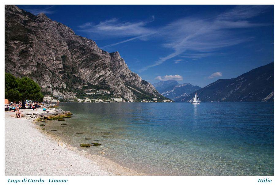 Lago di Garda - LimoneItálie