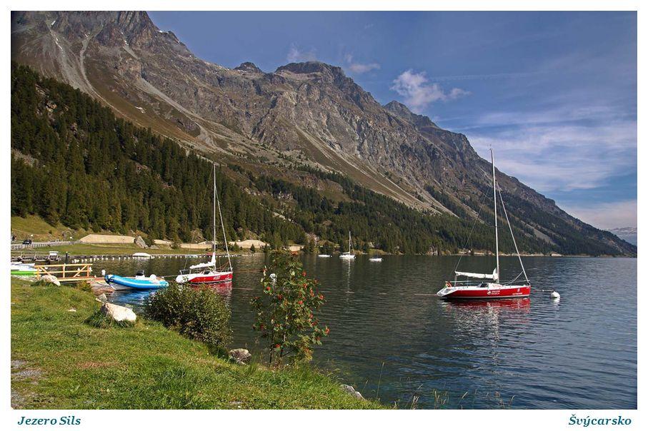 Jezero SilsŠvýcarsko