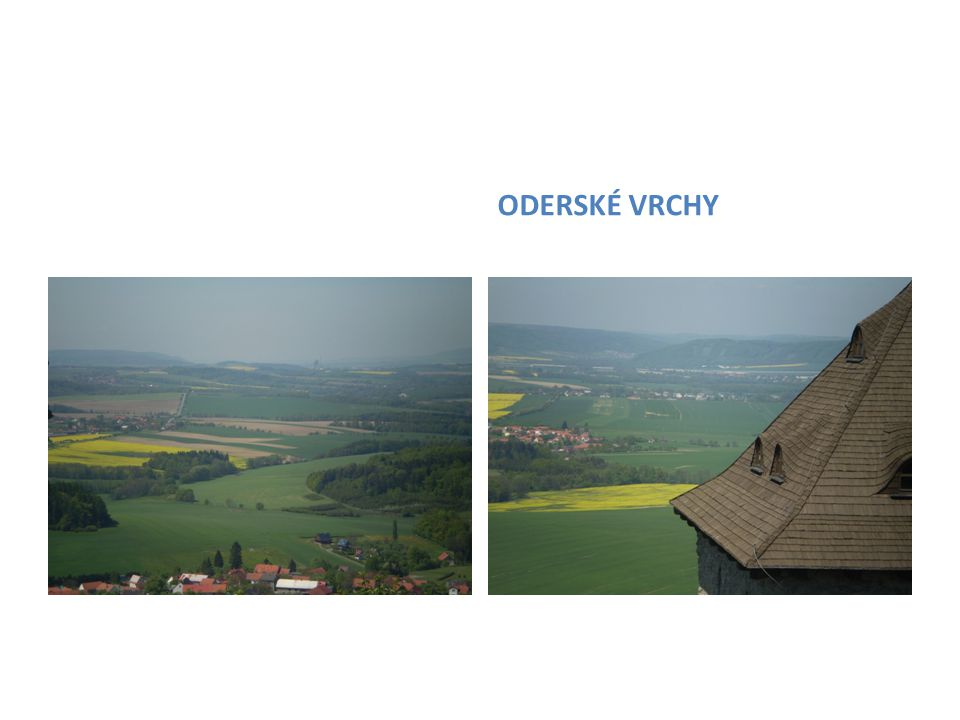 THE SAME VIEW OF THE VALLEY OF MORAVSKÁ BRÁNA HAD PROTECTORS OF THE CASTLE