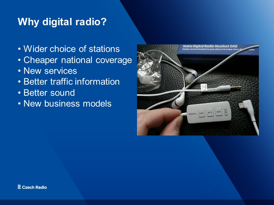 Why digital radio.