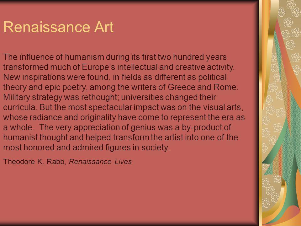 Categories of Renaissance Art Architecture Painting Sculpture