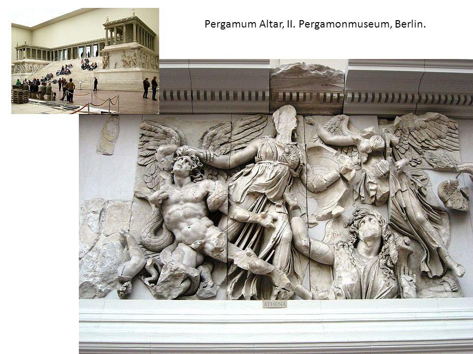 Pergamum Altar, II. Pergamonmuseum, Berlin.