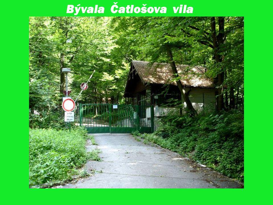 Bývala Čatlošova vila