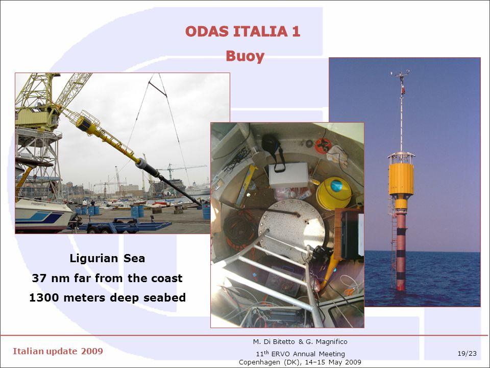 Italian update 2009 M. Di Bitetto & G.