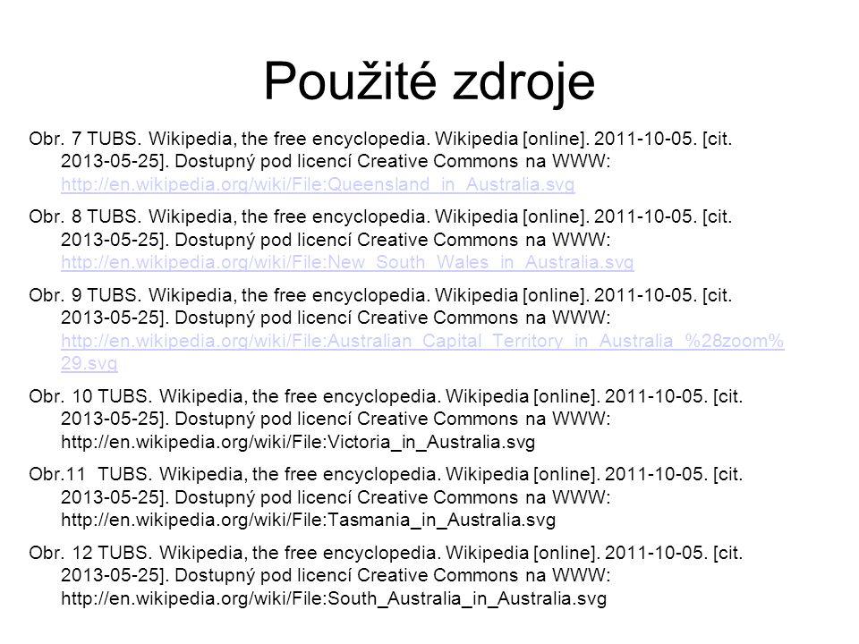 Použité zdroje Obr. 7 TUBS. Wikipedia, the free encyclopedia.