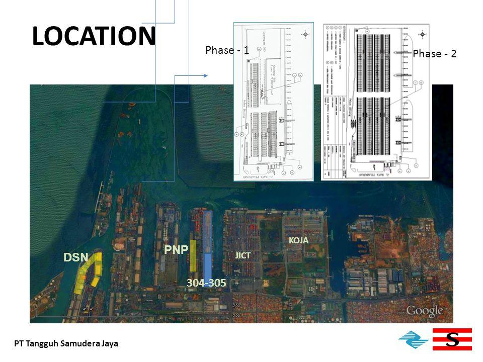 Sounding Chart PT Tangguh Samudera Jaya Min Depth 11.6 m N