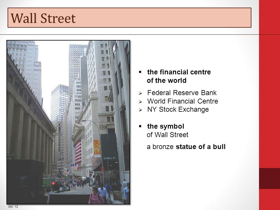 Wall Street obr.