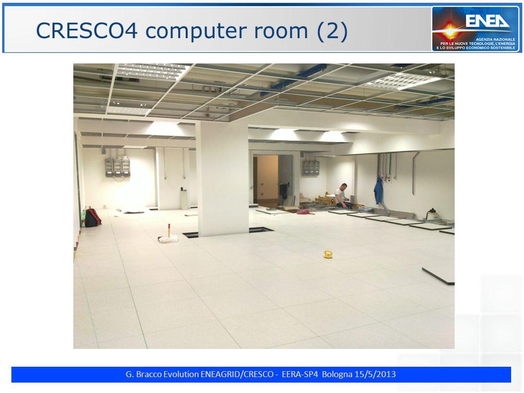 G. Bracco Evolution ENEAGRID/CRESCO - EERA-SP4 Bologna 15/5/2013 ENE CRESCO4 computer room (2)