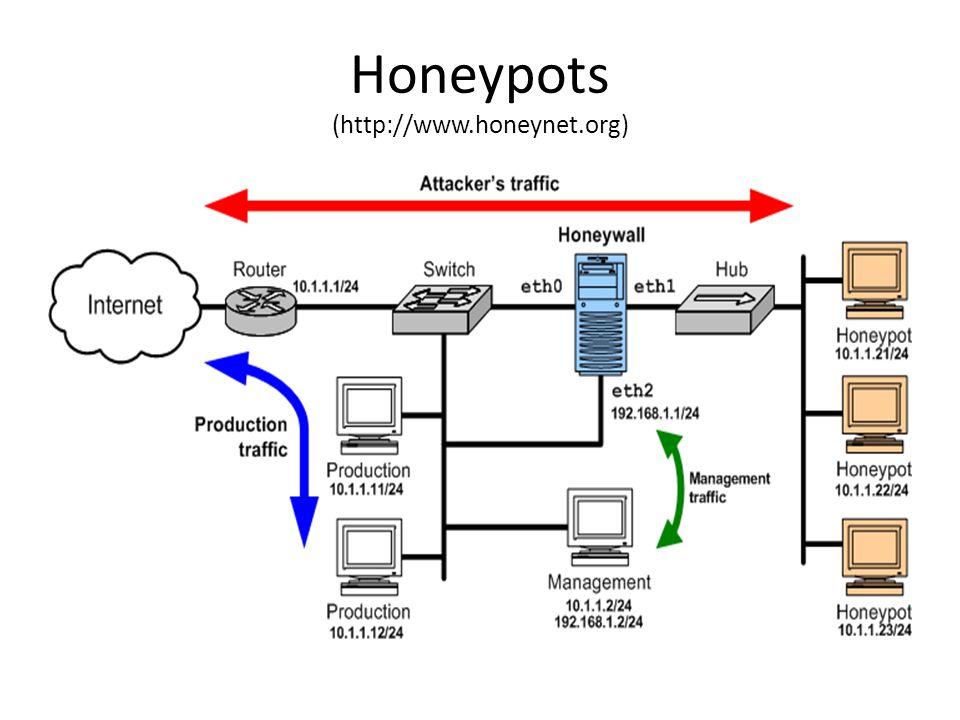 Honeypots (http://www.honeynet.org)