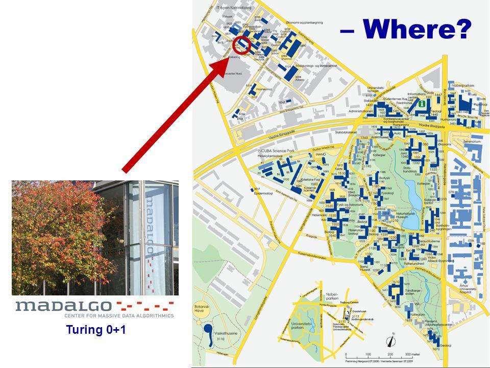 – Where? Turing 0+1