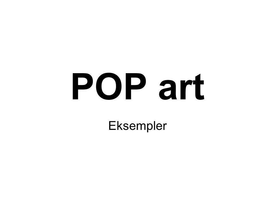 POP art Eksempler