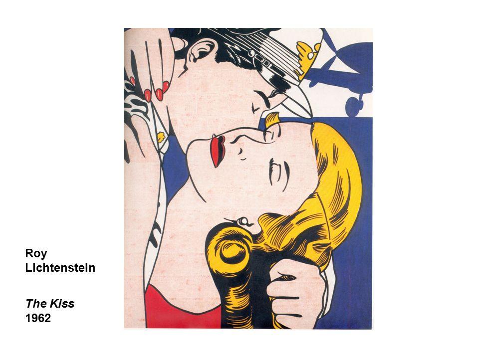 Roy Lichtenstein The Kiss 1962