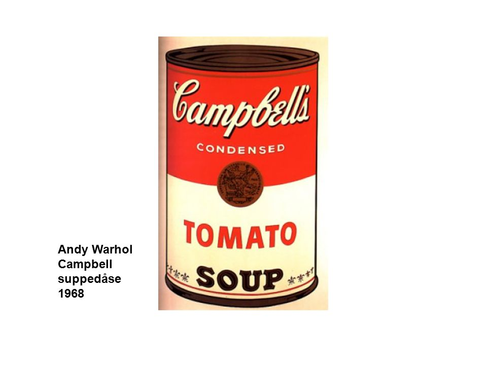 Andy Warhol Campbell suppedåse 1968
