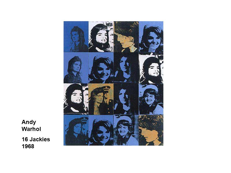 Andy Warhol 16 Jackies 1968