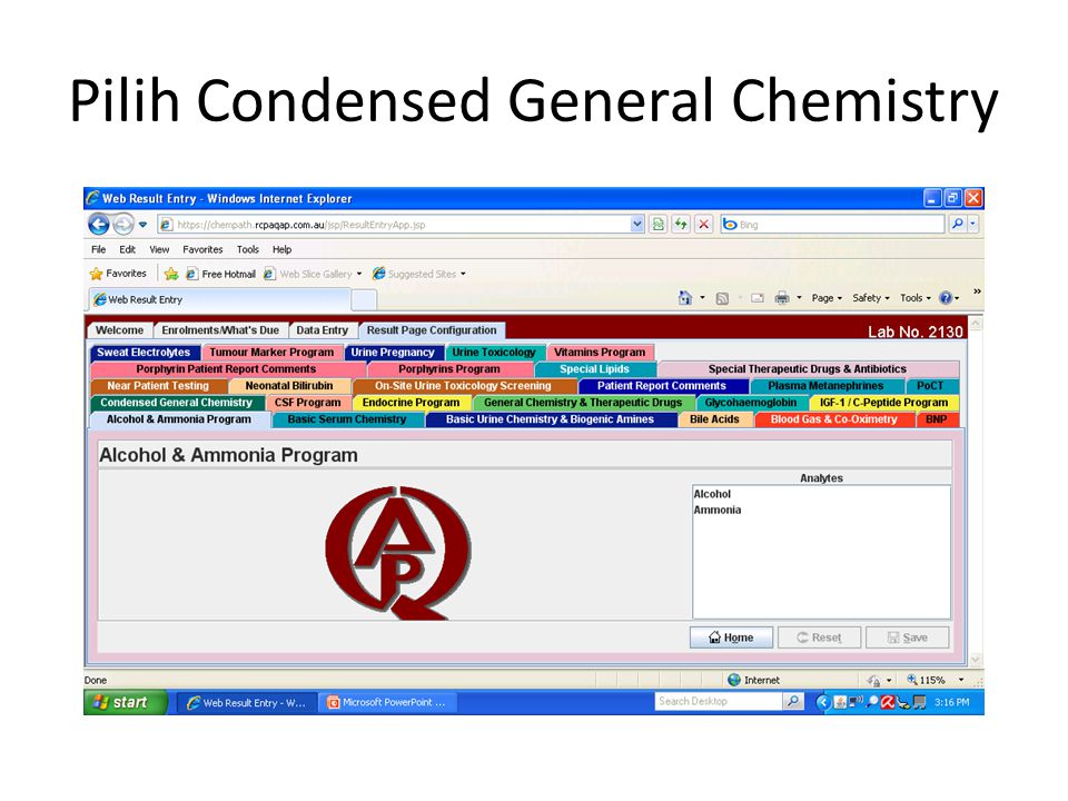Pilih Condensed General Chemistry