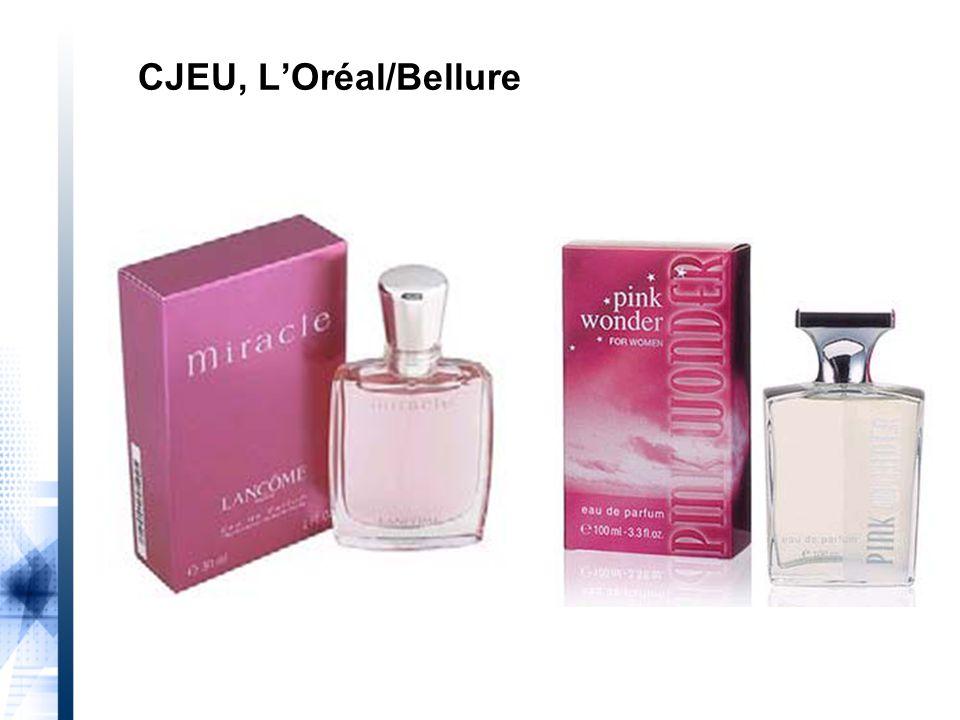 CJEU, L'Oréal/Bellure