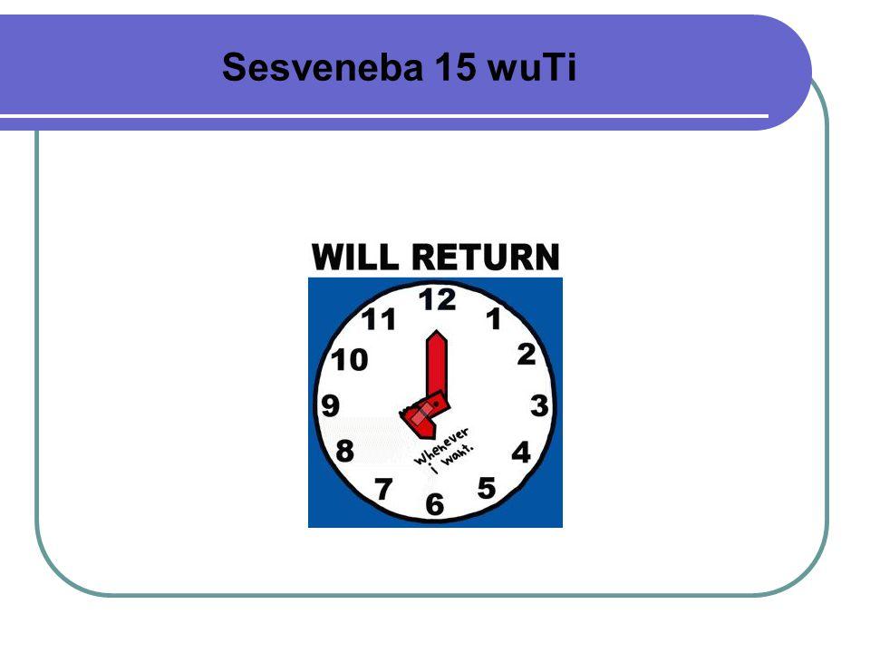 Sesveneba 15 wuTi
