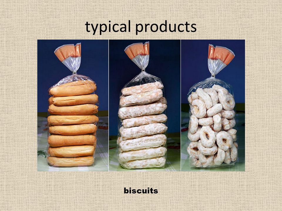 typical products biscuits