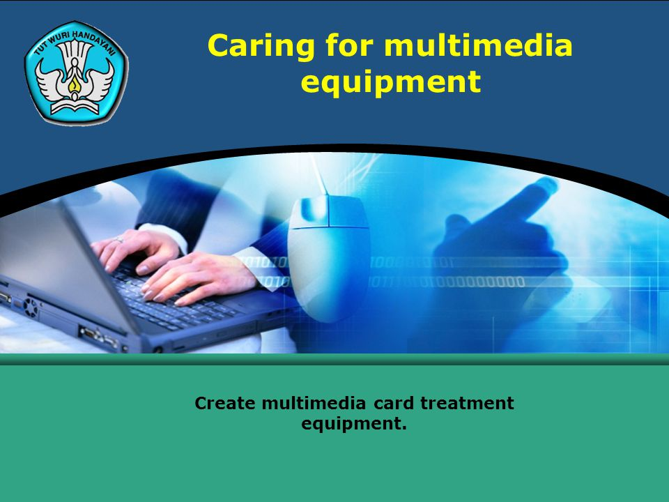 Caring for multimedia equipment Create multimedia card treatment equipment.