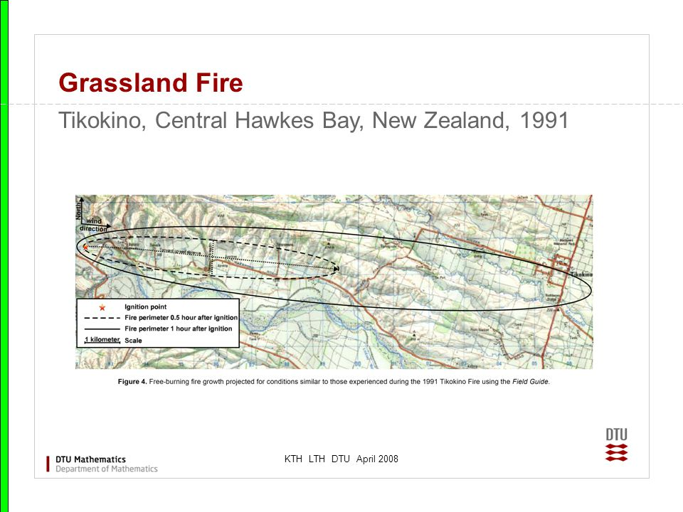 KTH LTH DTU April 2008 Grassland Fire Tikokino, Central Hawkes Bay, New Zealand, 1991