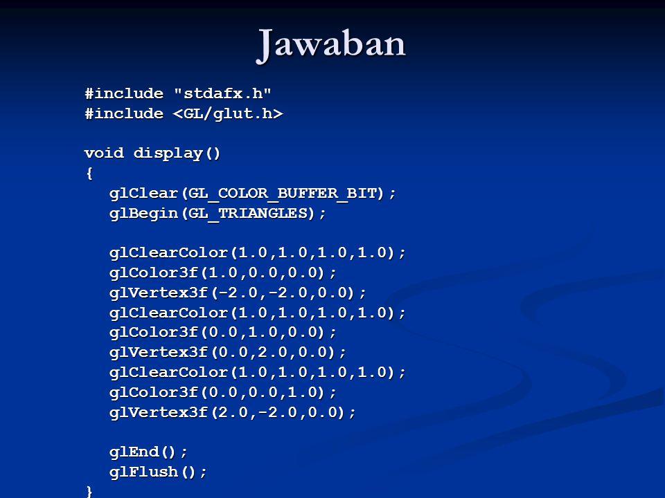 Jawaban #include