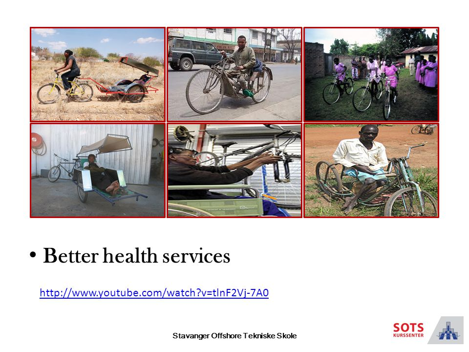 Stavanger Offshore Tekniske Skole Better health services http://www.youtube.com/watch v=tlnF2Vj-7A0