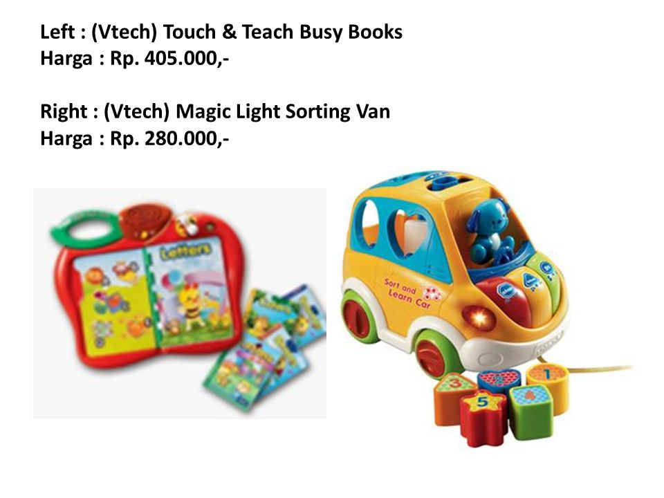 Left : (Vtech) All in One Play Centre Harga : Rp.