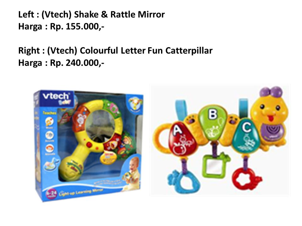 Left : (Vtech) Sing and Discover Piano Harga : Rp.