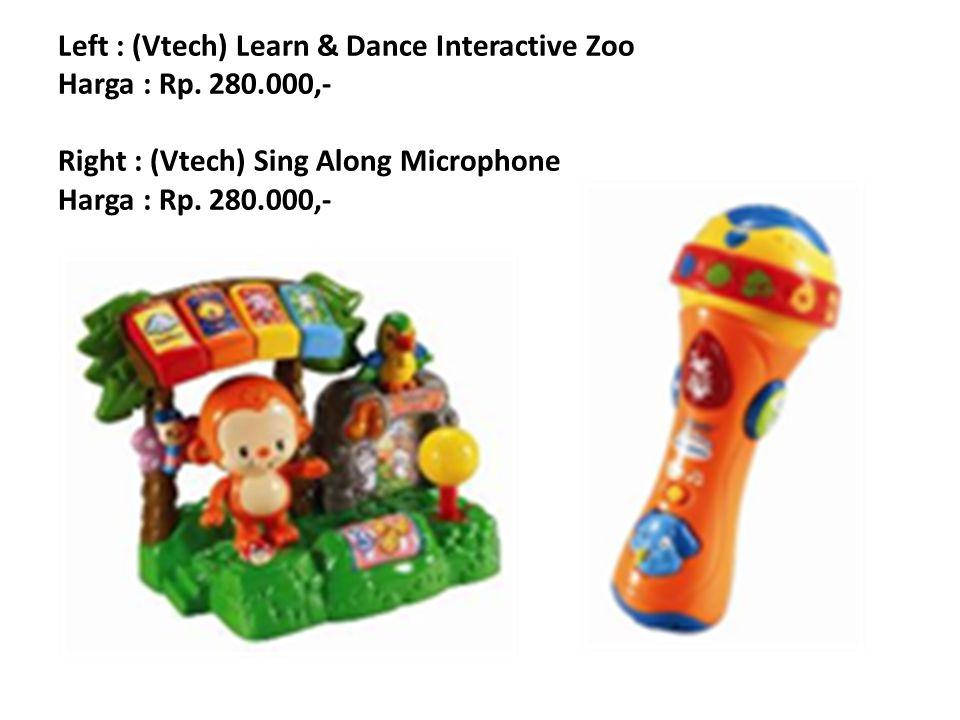 Left : (Vtech) Touch & Learn Musical Bee Harga : Rp.