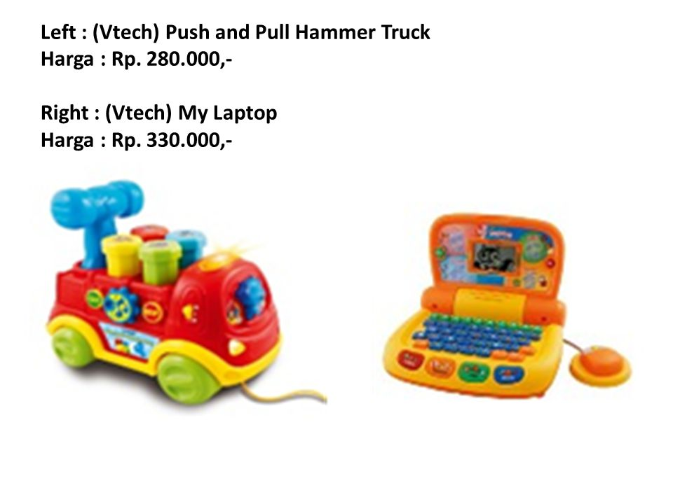 Left : (Vtech) Twist and Touch Puppy Harga : Rp.