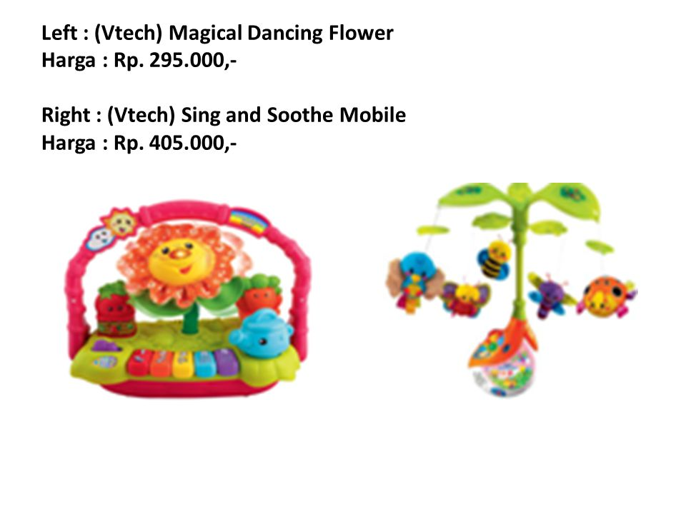 Left : (Vtech) Touch and Talk Storytime Harga : Rp.