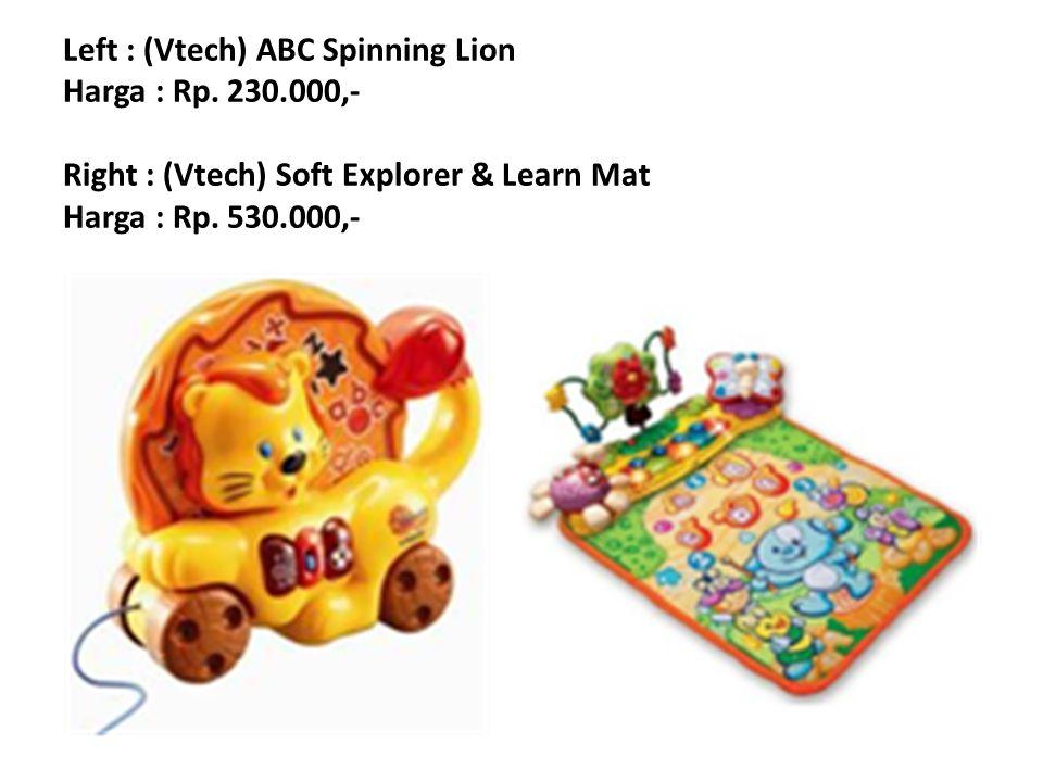 Left : (Vtech) Touch & Teach Busy Books Harga : Rp.