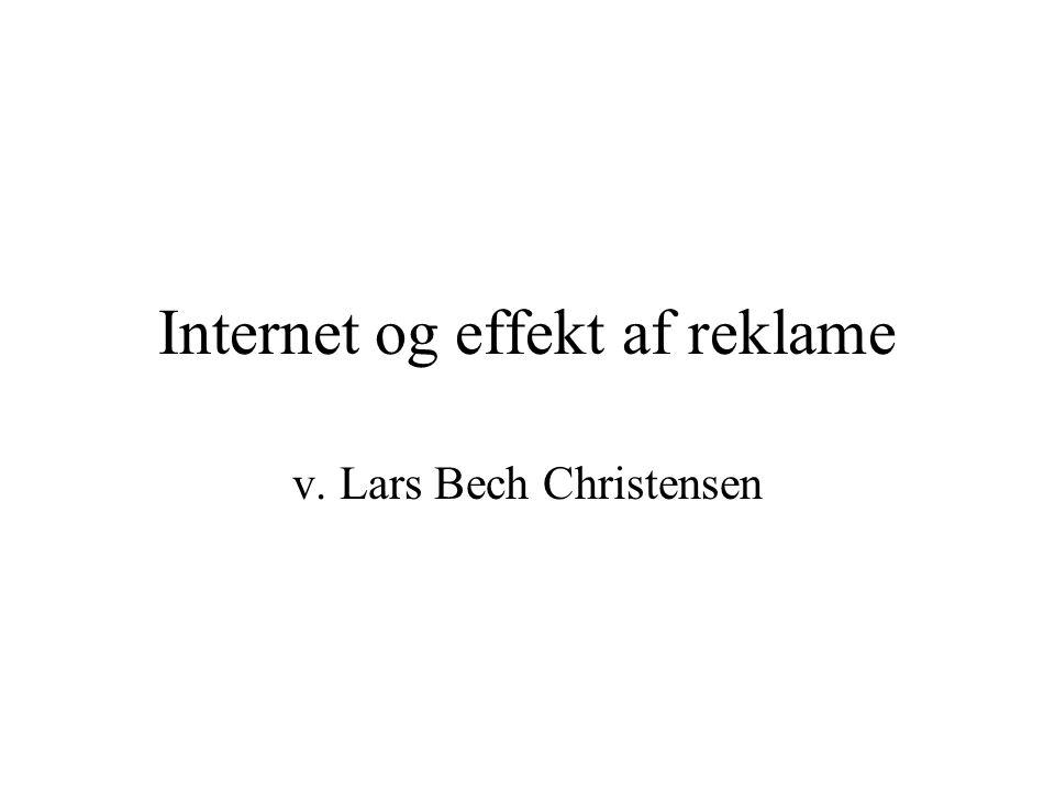 Internet og effekt af reklame v. Lars Bech Christensen
