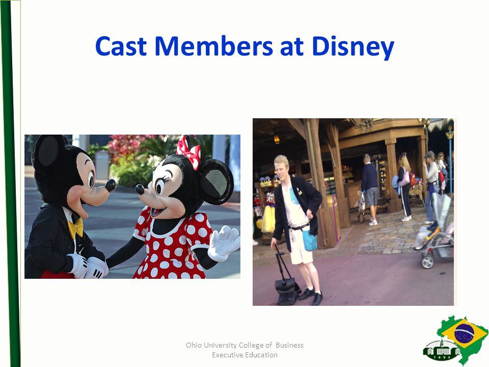 Cast Members at Disney Ohio University College of Business Executive Education