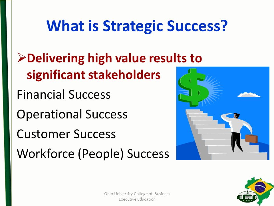 What is Strategic Success.